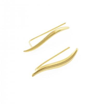 Επίχρυσο earline από Ασήμι 925