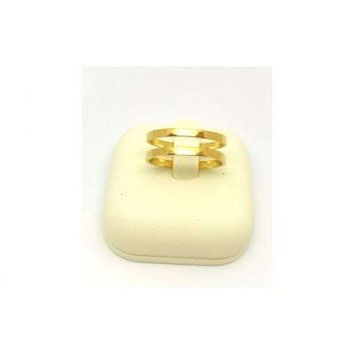 Δαχτυλίδι σε χρυσό χρώμα από Ανοξείδωτο Ατσάλι
